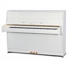 KAWAI K-15E (B) WH/P - пианино, 110х149х59, 196 кг., цвет белый полированный, мех. Ultra Responsive