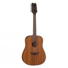 DEAN AX D12 MAH - гитара 12-струнная, Dreadnought, корпус махагон, цвет натуральный