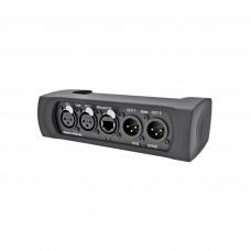 NEUTRIK NA2-IO-DPRO - сетевой аудио интерфейс DANTE/аналог/AES. 2хXLR f мик./лин. и AES (CH2) вх.,