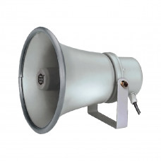 SHOW TC-15AH - громкоговоритель рупорный, 15 Вт, 100 В, круглый, цвет серый, IP 66