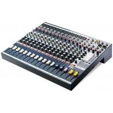 SOUNDCRAFT EFX12 - микшер 12 моно, 2 стерео, 2 Aux. процессор эффектов Lexicon. 32 пресета,