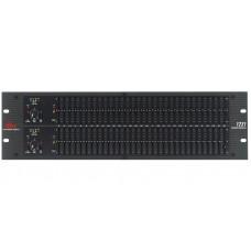 dbx 1231 - двухканальный,31-ти полосный графический эквалайзер, 1/3 октавный
