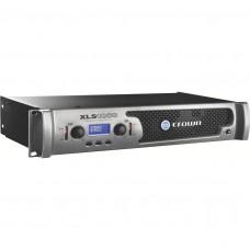 CROWN XLS1002 DriveCore - двухканальный усилитель мощн. с DSP, 2х550 Вт/2 Oм, 2х350 Вт/4 Ом, 2х215 В