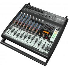 BEHRINGER PMP500 - микшер с усилителем, 500Вт, 5 каналов, 7 полосный графический эквалайзер