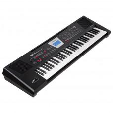 ROLAND BK-3 - синтезатор, 61 кл., звуков 851+53 ударных, 128 полиф., 250 ритмов, черный.