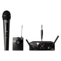 AKG WMS40 Mini2 Mix Set BD US45AC - радиосистема с 1 портативным и 1 ручным передатчиком (660.7/662.