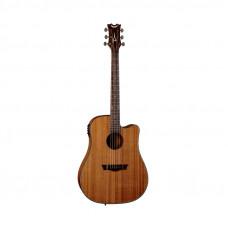 DEAN AX DCE MAH - электроакустическая гитара с вырезом, цвет натуральный