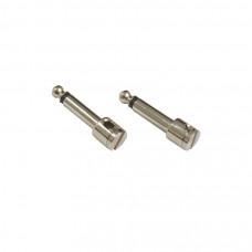 "DIAGO PF02 - набор (Jack 1/4""), 2 моно джека 6.3 мм (крепление кабеля без пайки)"
