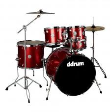 """DDRUM D2 522 RSP - ударная установка , цвет Red Sparkle , 10""""-12""""-16""""-22"""", 14х6.5"""""""